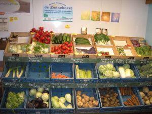 Foto van onze boerderijwinkel.